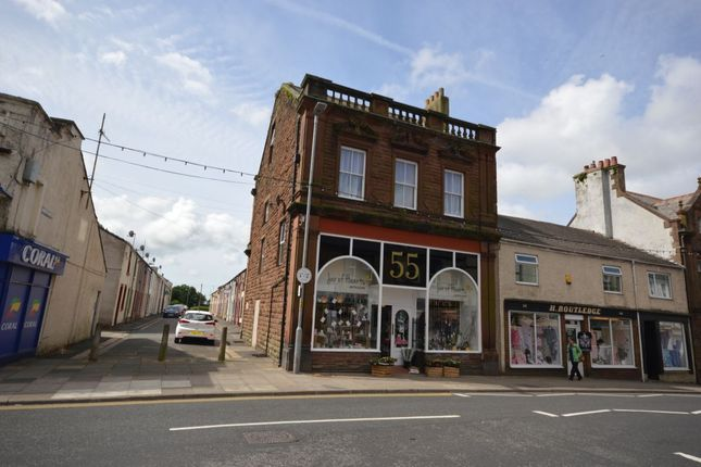Thumbnail Flat to rent in High Street, Cleator Moor