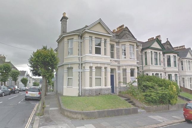 Thumbnail End terrace house to rent in Lipson Road, Lipson, Plymouth