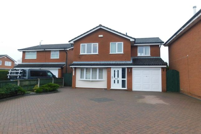 Thumbnail Detached house for sale in Bromley Close, Crewe