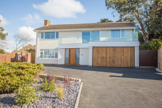 Thumbnail Detached house for sale in Avalon, Evening Hill, Poole, Dorset