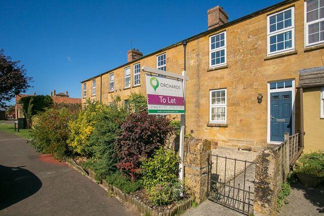 Thumbnail Cottage to rent in Limbury Terrace, Martock