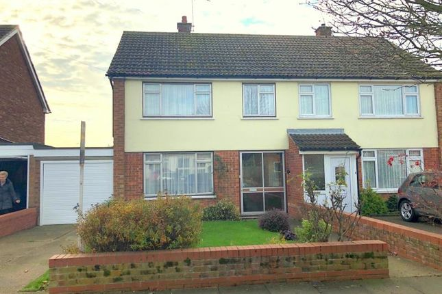 Thumbnail Semi-detached house to rent in Defoe Road, Ipswich