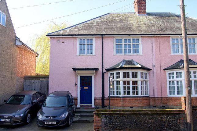 Thumbnail Semi-detached house for sale in Southgate Street, Bury St. Edmunds