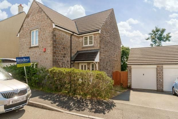 Thumbnail Detached house for sale in Meadow Drive, Pillmere, Saltash, Cornwall