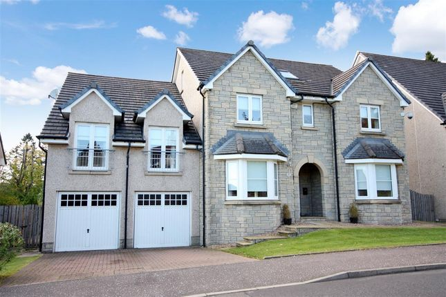 Thumbnail Detached house for sale in Foxglove Road, Newton Mearns, Glasgow