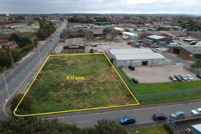 Thumbnail Land for sale in 25, Tarran Way North, Wirral CH46, Wirral,