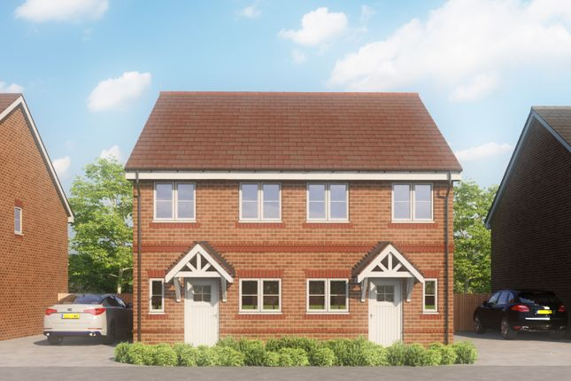 Thumbnail 2 bedroom semi-detached house for sale in Marjoram Avenue, Cranleigh