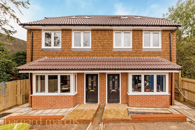 Thumbnail Semi-detached house for sale in Harding Road, Epsom