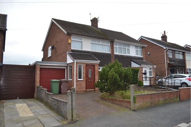 Thumbnail Semi-detached house to rent in Sherdley Park Drive, Sutton, St. Helens WA9.