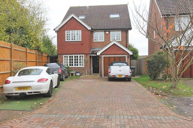 Thumbnail Detached house for sale in Garden Place, Wilmington, Dartford, Kent