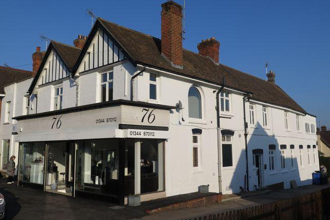 Thumbnail Studio for sale in Ground Floor Commercial Premises. High Street, Sunninghill, Berkshire