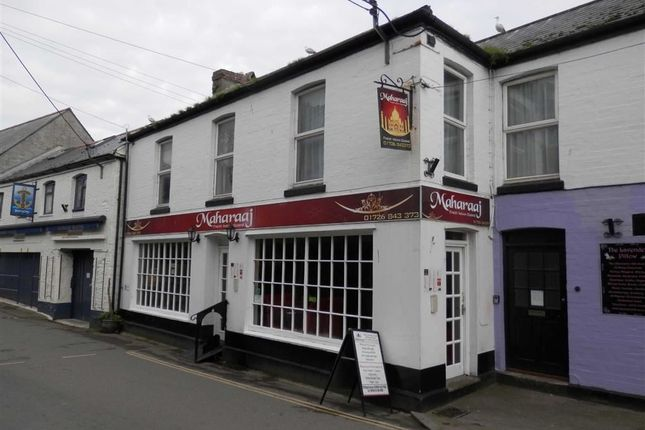 Restaurant/cafe for sale in Maharaaj Indian Restaurant, 3-4, River Street, Mevagissey, Cornwall