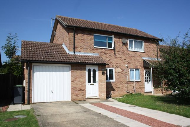 Thumbnail Semi-detached house to rent in Southfields, Sleaford, Lincolnshire