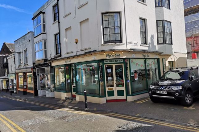 Thumbnail Retail premises for sale in Albion Street, Broadstairs