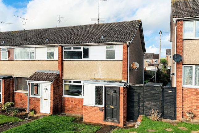 Thumbnail End terrace house for sale in Farm View, Taunton