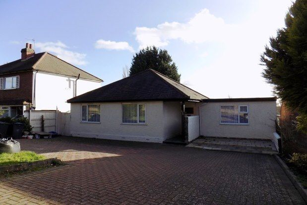 Thumbnail Bungalow to rent in Weoley Park Road, Birmingham