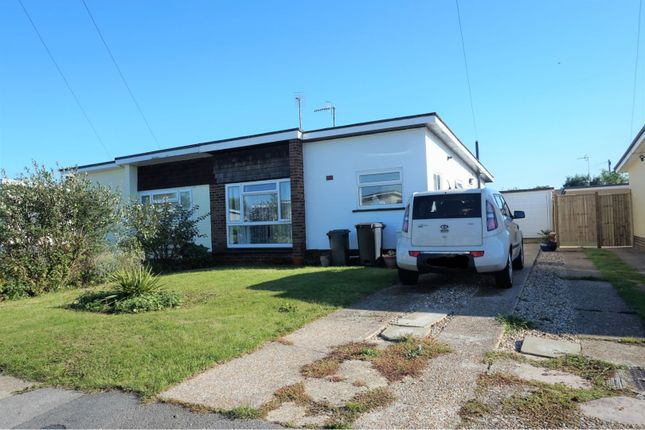 Thumbnail Semi-detached bungalow for sale in Mountney Drive, Pevensey