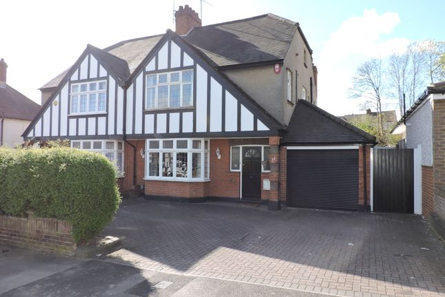 Thumbnail Semi-detached house for sale in Montrose Avenue, Luton