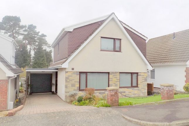 Thumbnail Detached house for sale in Ravenswood Close, Leiros Park, Rhyddings, Neath, Neath Port Talbot.