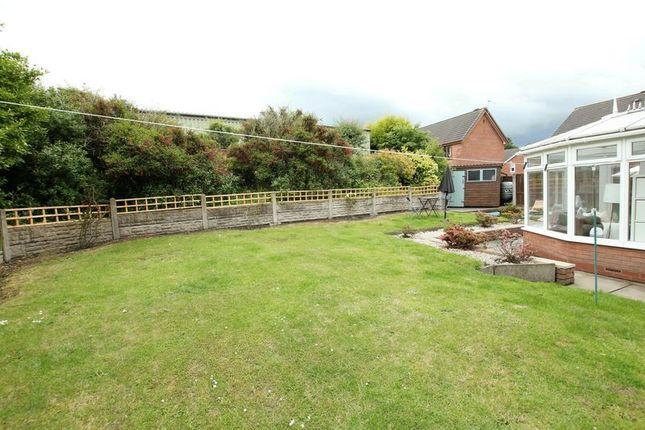 Rear Garden of Chapel Lane, Harriseahead, Stoke-On-Trent ST7