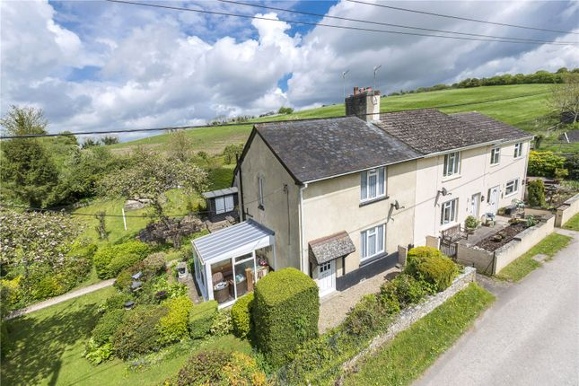 Thumbnail Semi-detached house for sale in Bottom Road, Stourpaine, Blandford Forum, Dorset