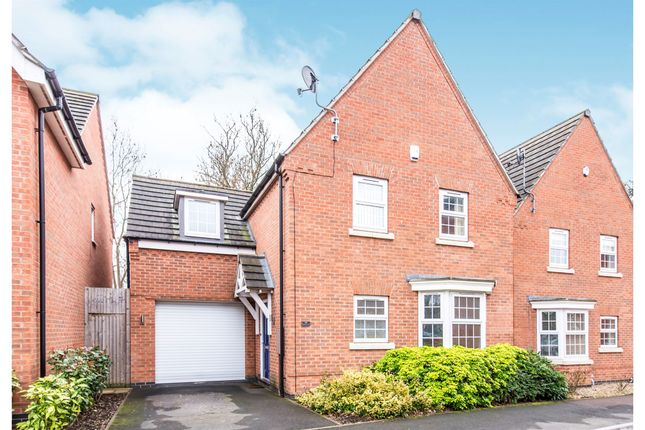 Thumbnail Detached house for sale in Danbury Place, Humberstone, Leicester