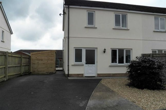 Thumbnail Semi-detached house for sale in Ffynnon Y Waun, Ponthenry, Llanelli