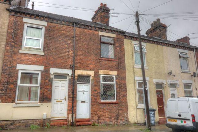 2 bed terraced house for sale in Denbigh Street, Hanley, Stoke-On-Trent ST1