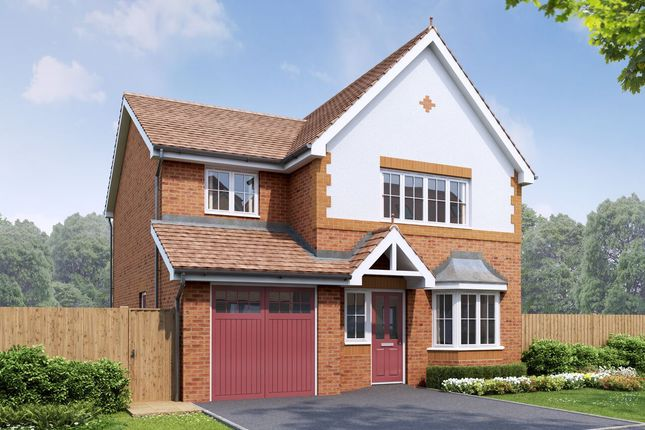 Thumbnail Detached house for sale in The Bala, Plot45, Earle Street, Newton-Le-Willows, Merseyside
