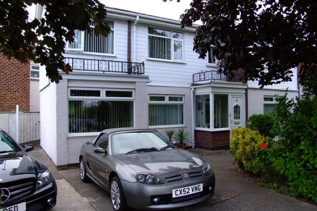 Thumbnail Detached house for sale in North Drive, Rhyl