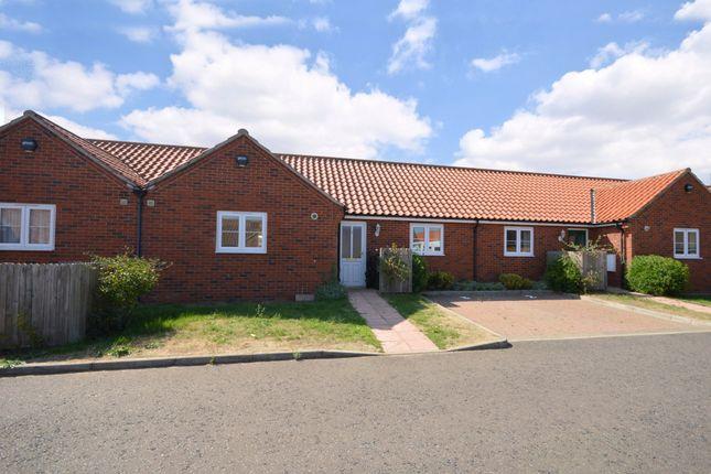 Thumbnail Terraced bungalow for sale in Magnolia Mews, Swanton Morley, Dereham