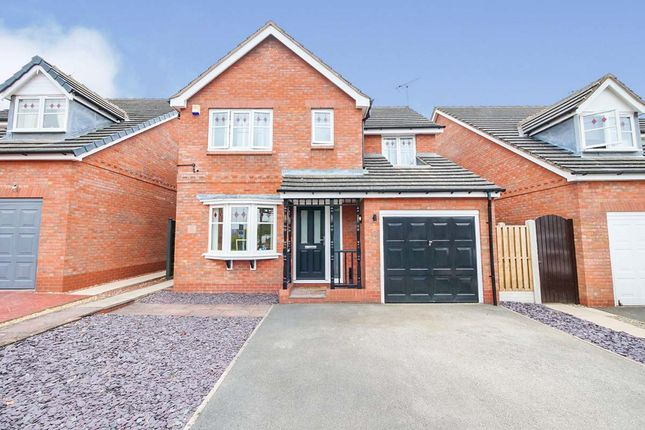 Thumbnail Detached house for sale in Saddlers Close, Huntington, York