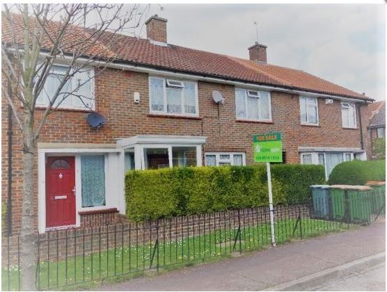 Terraced house for sale in Wooder Gardens, London