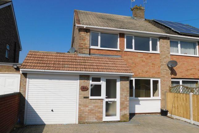 Thumbnail Semi-detached house to rent in Lake Drive, Bordon