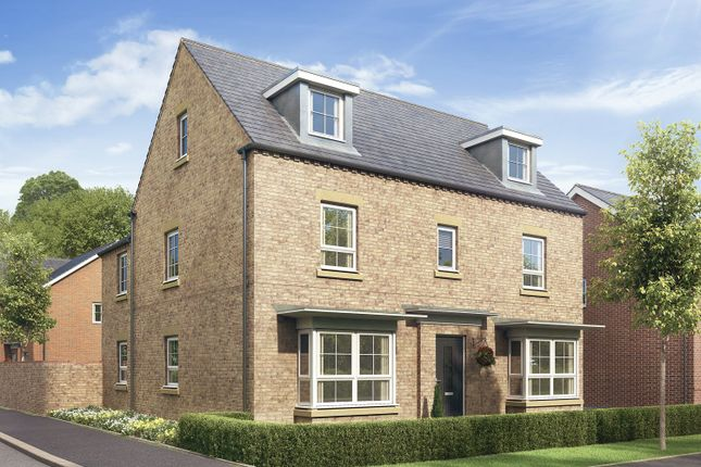 """Thumbnail Detached house for sale in """"Marlowe"""" at Fosse Road, Bingham, Nottingham"""