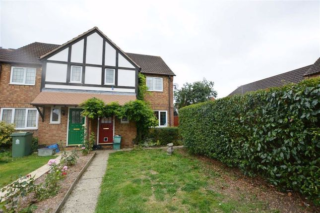 Thumbnail End terrace house for sale in Mallard Close, Quedgeley, Gloucester