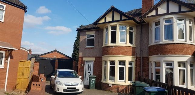 Thumbnail End terrace house to rent in Delhi Avenue, Coventry