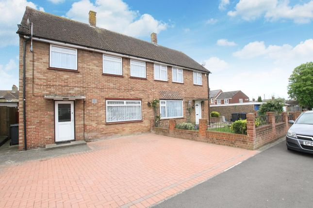 Thumbnail Semi-detached house for sale in Cambridge Road, Canterbury