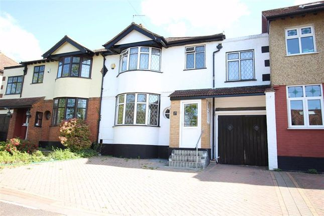 Thumbnail Terraced house for sale in Dale View Crescent, North Chingford, London