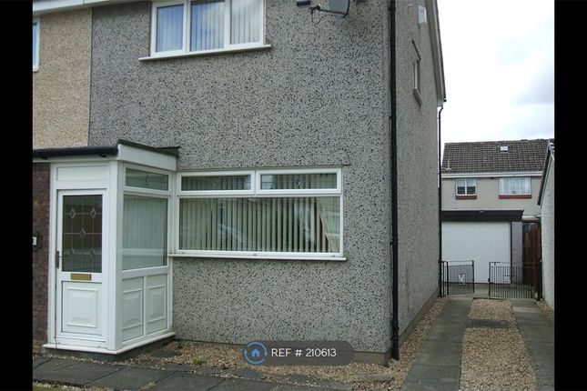 Thumbnail Semi-detached house to rent in Baillie Gardens, Wishaw