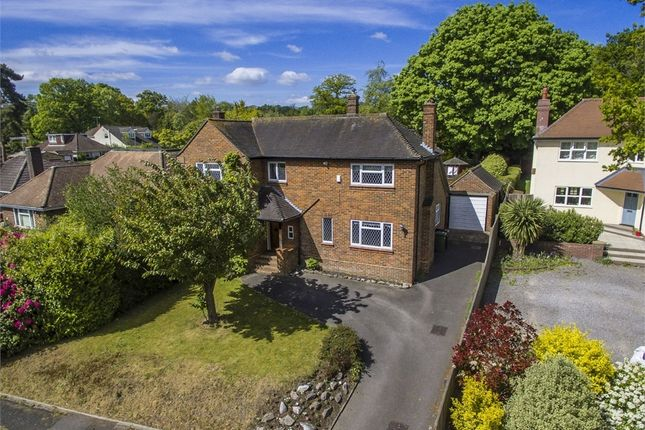 Thumbnail Detached house for sale in Western Road, Hiltingbury, Chandler's Ford, Eastleigh, Hampshire
