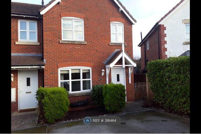 Thumbnail End terrace house to rent in Rhodfa Flint, Bodelwyddan, Rhyl