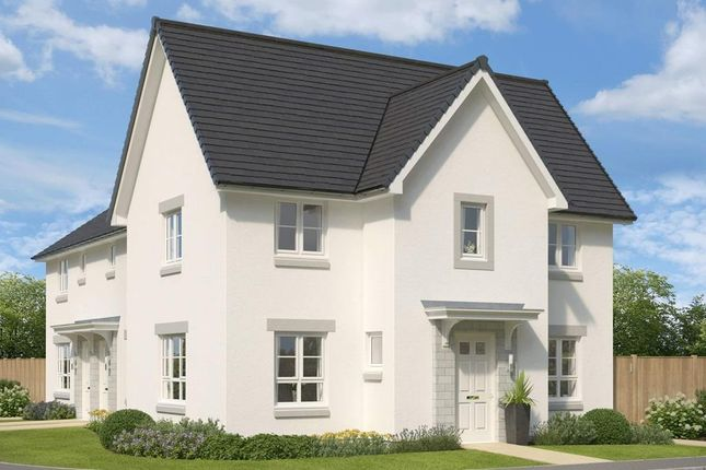 "Thumbnail End terrace house for sale in ""Abergeldie"" at Mugiemoss Road, Bucksburn, Aberdeen"