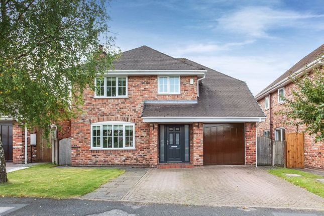 Thumbnail Detached house for sale in Henshall Hall Drive, Mossley, Congleton