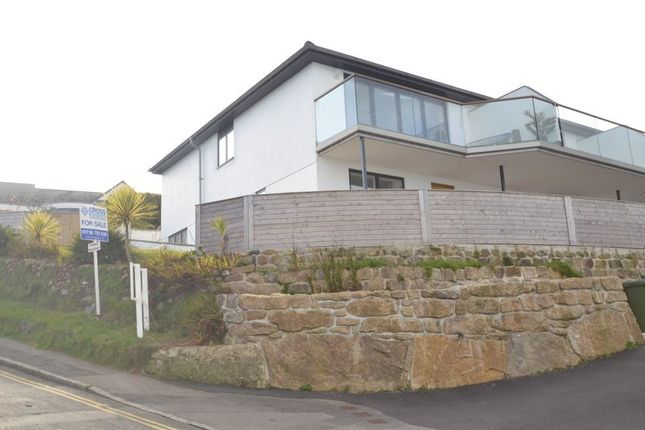 Thumbnail End terrace house for sale in Porthrepta Road, Carbis Bay, St. Ives