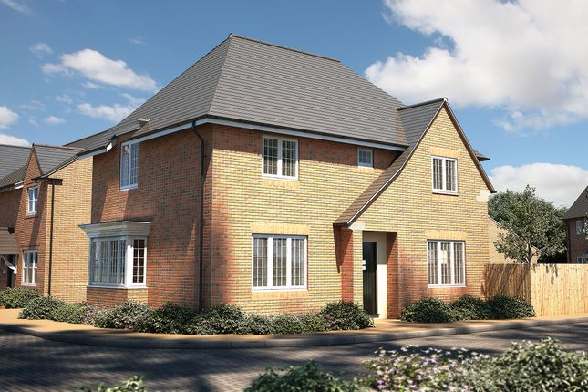 "Thumbnail Detached house for sale in ""The Rainham"" at Roman Road, Bobblestock, Hereford"