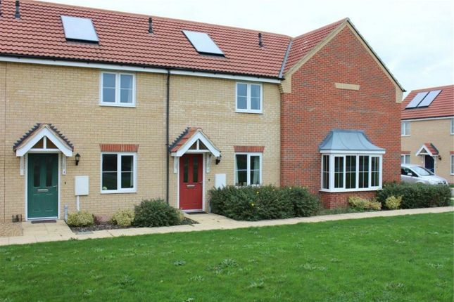 Thumbnail Terraced house to rent in Braeburn Road, Deeping St James, Peterborough, Lincolnshire