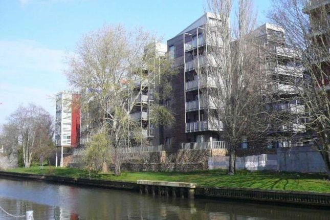 Thumbnail Flat for sale in Geoffrey Watling Way, Norwich
