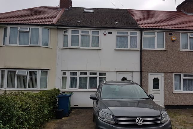 Thumbnail Terraced house to rent in Long Elms, Harrow