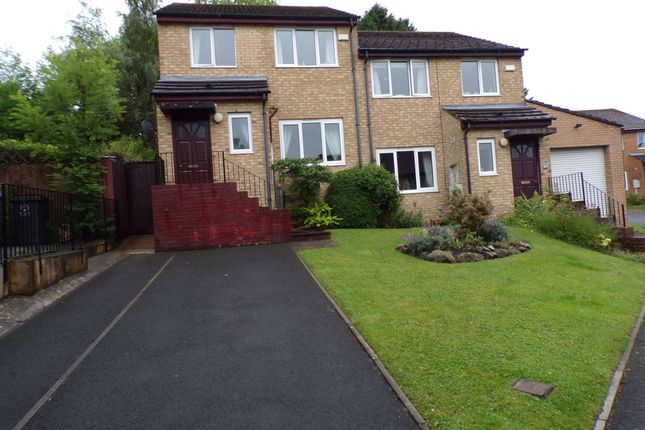 Thumbnail Semi-detached house for sale in Falstone Way, Hexham